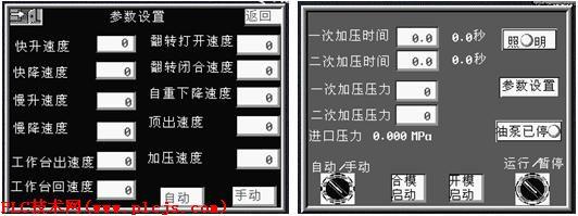 压力传感器测量压力,经变送器转换成4~20ma信号接入plc,电动阀调节压