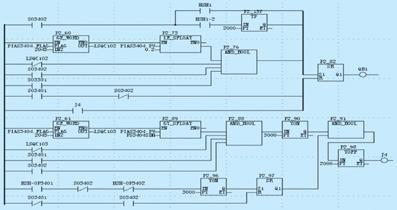 图4     自动启停备用油泵a工作原理图